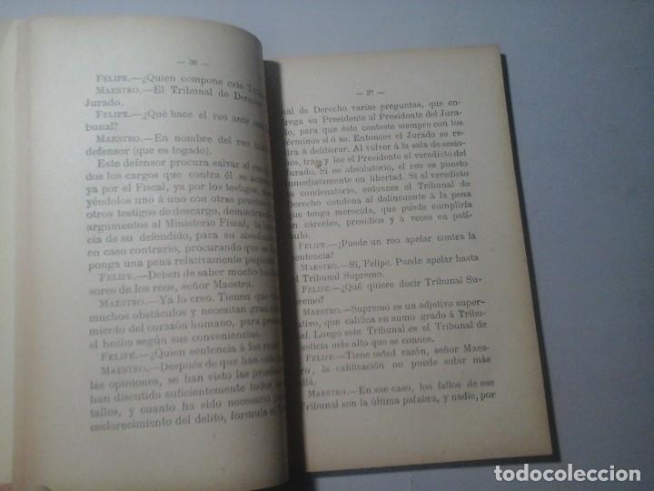 Libros antiguos: VALERO ALMUDÉVAR CASTILLO. LA ADMINISTRACIÓN ESPAÑOLA AL ALCANCE DE LOS NIÑOS. 1ª ED.1895. RARO. - Foto 3 - 139677798