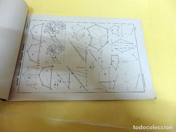 Libros antiguos: ATLAS DE DIBUJO GEOMÉTRICO ELEMENTAL DE 1935 - Foto 2 - 140294598
