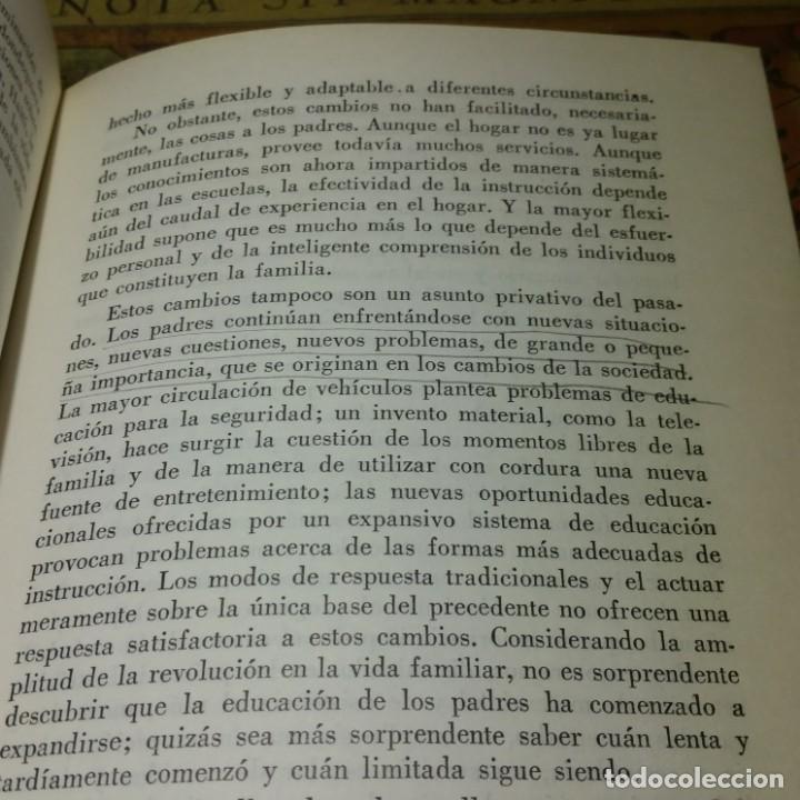 Libros antiguos: LA EDUCACIÓN DE LOS PADRES. H. H. STERN. EDITORIAL KAPELUSZ 1967. - Foto 4 - 142755170