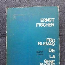 Libros antiguos: PROBLEMAS DE LA GENERACIÓN JOVEN. ERNST FISCHER.. Lote 144690530
