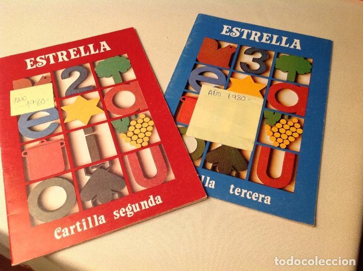 CARTILLAS ESTRELLA-SANTILLANA 1980 (Libros Antiguos, Raros y Curiosos - Ciencias, Manuales y Oficios - Pedagogía)