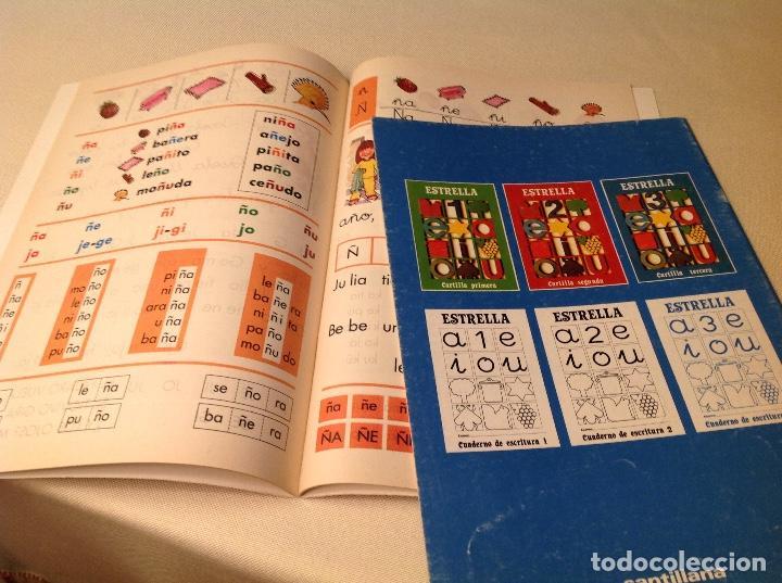 Libros antiguos: Cartillas Estrella-SANTILLANA 1980 - Foto 3 - 206511953