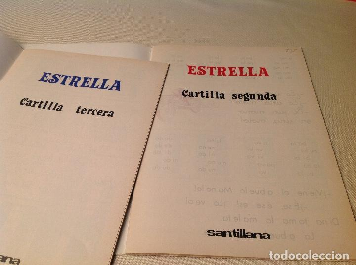 Libros antiguos: Cartillas Estrella-SANTILLANA 1980 - Foto 5 - 206511953