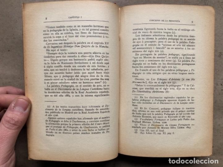 Libros antiguos: TEORÍA DE LA EDUCACIÓN POR RUFINO BLANCO Y SÁNCHEZ. PEDAGOGÍA (PRIMER TOMO).REVISTA DE ARCHIVOS 1912 - Foto 4 - 146117054