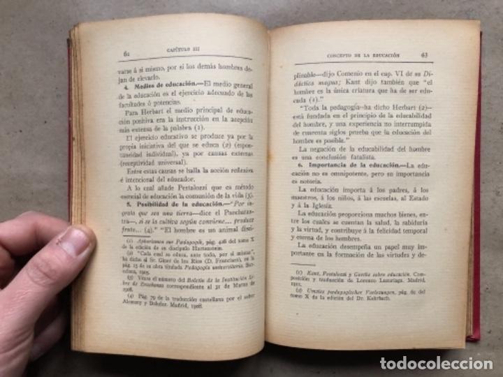 Libros antiguos: TEORÍA DE LA EDUCACIÓN POR RUFINO BLANCO Y SÁNCHEZ. PEDAGOGÍA (PRIMER TOMO).REVISTA DE ARCHIVOS 1912 - Foto 5 - 146117054