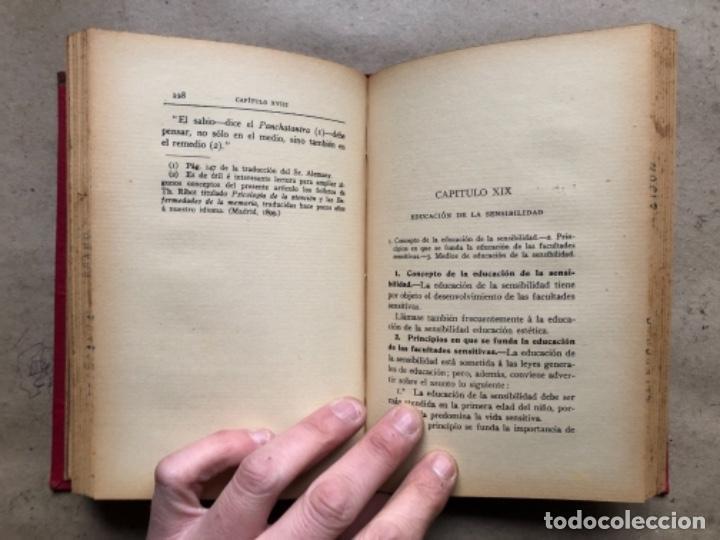 Libros antiguos: TEORÍA DE LA EDUCACIÓN POR RUFINO BLANCO Y SÁNCHEZ. PEDAGOGÍA (PRIMER TOMO).REVISTA DE ARCHIVOS 1912 - Foto 7 - 146117054