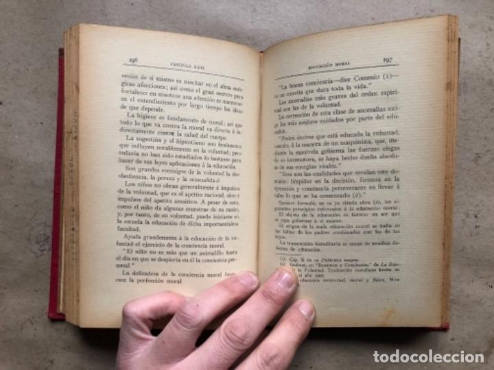 Libros antiguos: TEORÍA DE LA EDUCACIÓN POR RUFINO BLANCO Y SÁNCHEZ. PEDAGOGÍA (PRIMER TOMO).REVISTA DE ARCHIVOS 1912 - Foto 8 - 146117054