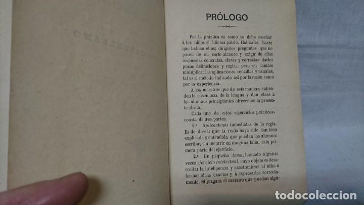 Libros antiguos: EJERCICIOS GRAMATICALES DEL IDIOMA CASTELLANO, MARIO IBERO - Foto 5 - 146161682