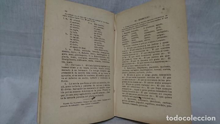 Libros antiguos: EJERCICIOS GRAMATICALES DEL IDIOMA CASTELLANO, MARIO IBERO - Foto 6 - 146161682