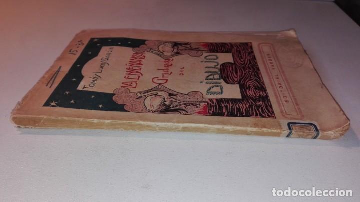Libros antiguos: LA ENSEÑANZA GRADUADA DEL DIBUJO - TOMÁS LUCAS GARCÍA - EDITORIAL YAGÜES Muy raro - Foto 2 - 146654494