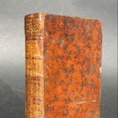 Libros antiguos: XVIII - DE LA MANERA DE ENSEÑAR EL ESTUDIO DE LAS BELLAS LETRAS - LIBRO ANTIGUO ENCUADERNACIÓN PIEL. Lote 147007678