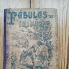 Libros antiguos: FÁBULAS DE IRIARTE TOMÁS IRIARTE MADRID ED. S. CALLEJA 1901. Lote 147678718