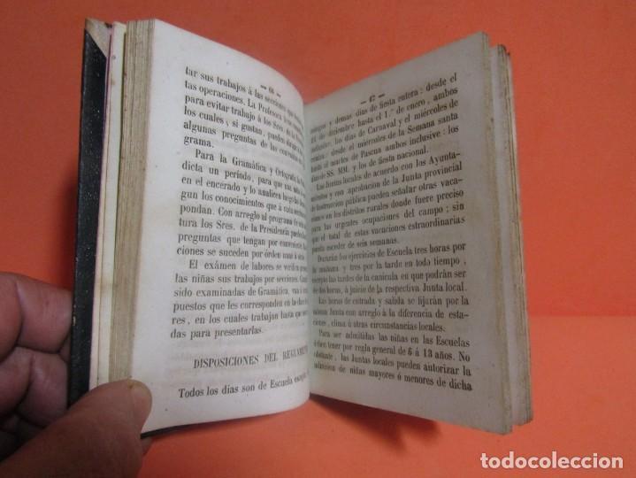 Libros antiguos: D. ODON FONOLL -NOCIONES DE SISTEMAS Y METODOS DE ENSEÑANZA- EDITOR JUAN BASTINOS BARCELONA AÑO 1860 - Foto 5 - 147788442