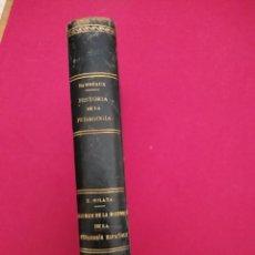 Libros antiguos: HISTORIA DE LA PEDAGOGIA. EUGENIO DAMSEAUX. PEDAGOGIA ESPAÑOLA POR EZEQUIEL SOLANA. Lote 149724554