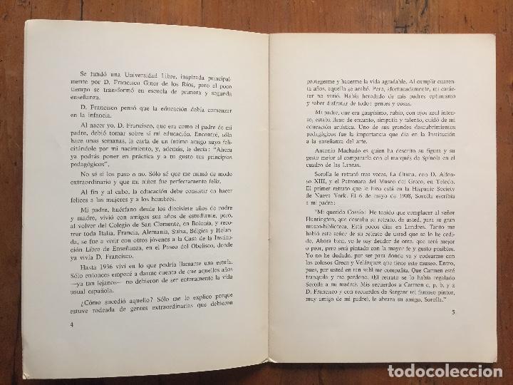 Libros antiguos: Mi mundo desde dentro - Natalia Cossío de Jiménez - Foto 3 - 217318382