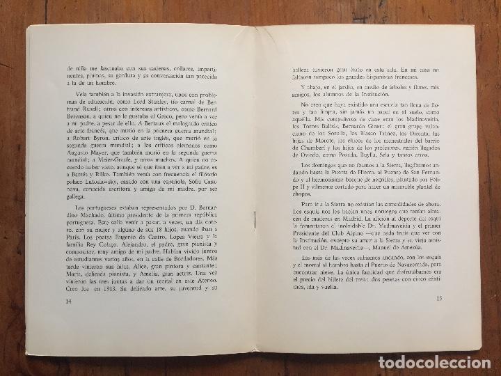 Libros antiguos: Mi mundo desde dentro - Natalia Cossío de Jiménez - Foto 4 - 217318382