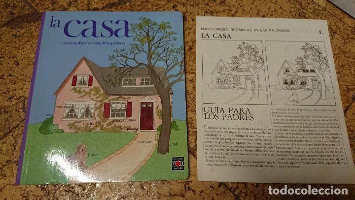 LIBRO LA CASA ENCICLOPEDIA IRROMPIBLE DE LAS PALABRAS CON LA GUÍA PARA LOS PADRES - PLAZA JOVEN 1986 (Libros Antiguos, Raros y Curiosos - Ciencias, Manuales y Oficios - Pedagogía)