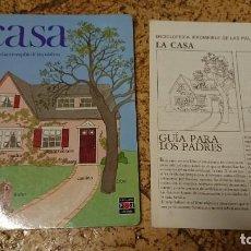 Libros antiguos: LIBRO LA CASA ENCICLOPEDIA IRROMPIBLE DE LAS PALABRAS CON LA GUÍA PARA LOS PADRES - PLAZA JOVEN 1986. Lote 162380146