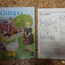 Libros antiguos: LIBRO EL CAMPO ENCICLOPEDIA IRROMPIBLE DE LAS PALABRAS CON LA GUÍA PARA LOS PADRES PLAZA JOVEN 1986. Lote 162380458