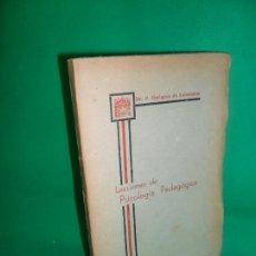Libros antiguos: LECCIONES DE PSICOLOGÍA PEDAGÓGICA, F. ENRÍQUEZ DE SALAMANCA, ED. EMILIO MARTÍN, ÁVILA, 1938. Lote 167963616
