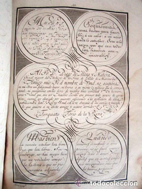 Libros antiguos: 1798. PRIMERA EDICIÓN! EL ARTE DE ESCRIBIR. T. TORÍO DE LA RIVA Y HERRERO. ENCUADERNACIÓN PIEL - Foto 2 - 168556480