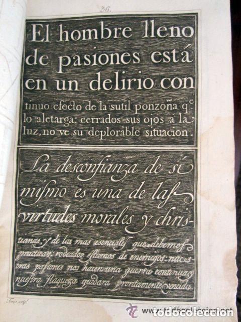 Libros antiguos: 1798. PRIMERA EDICIÓN! EL ARTE DE ESCRIBIR. T. TORÍO DE LA RIVA Y HERRERO. ENCUADERNACIÓN PIEL - Foto 5 - 168556480