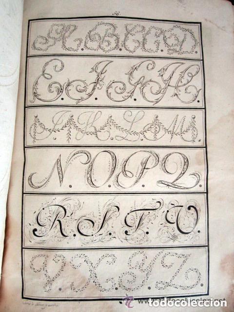 Libros antiguos: 1798. PRIMERA EDICIÓN! EL ARTE DE ESCRIBIR. T. TORÍO DE LA RIVA Y HERRERO. ENCUADERNACIÓN PIEL - Foto 7 - 168556480