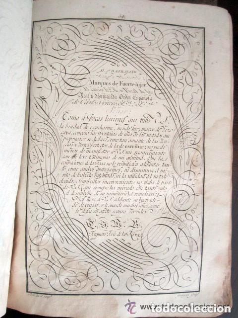 Libros antiguos: 1798. PRIMERA EDICIÓN! EL ARTE DE ESCRIBIR. T. TORÍO DE LA RIVA Y HERRERO. ENCUADERNACIÓN PIEL - Foto 11 - 168556480