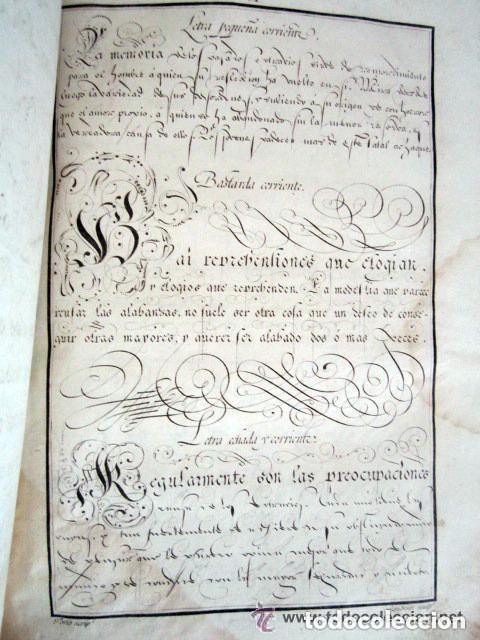 Libros antiguos: 1798. PRIMERA EDICIÓN! EL ARTE DE ESCRIBIR. T. TORÍO DE LA RIVA Y HERRERO. ENCUADERNACIÓN PIEL - Foto 14 - 168556480