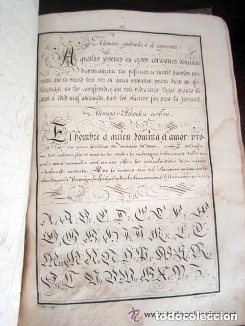 Libros antiguos: 1798. PRIMERA EDICIÓN! EL ARTE DE ESCRIBIR. T. TORÍO DE LA RIVA Y HERRERO. ENCUADERNACIÓN PIEL - Foto 15 - 168556480