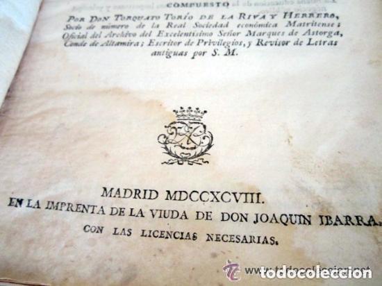 Libros antiguos: 1798. PRIMERA EDICIÓN! EL ARTE DE ESCRIBIR. T. TORÍO DE LA RIVA Y HERRERO. ENCUADERNACIÓN PIEL - Foto 18 - 168556480
