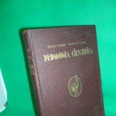 Libros antiguos: PEDAGOGÍA CIENTÍFICA, MARÍA MONTESSORI, ED. ARALUCE, 1937, 3ª EDICIÓN. Lote 168591440