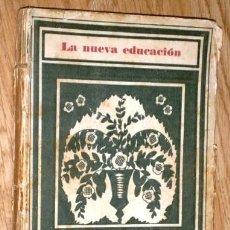 Livros antigos: EL MÉTODO DE PROYECTOS POR FERNANDO SÁINZ DE PUBLICACIONES REVISTA PEDAGOGÍA EN MADRID 1931. Lote 168754312