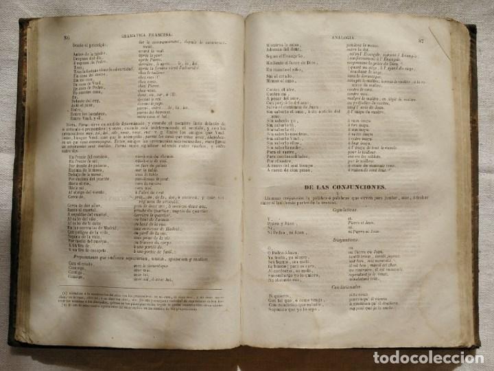 Libros antiguos: NOVÍSIMO CHANTREAU o GRAMÁTICA FRANCESA. Año 1852 - Foto 4 - 168843980