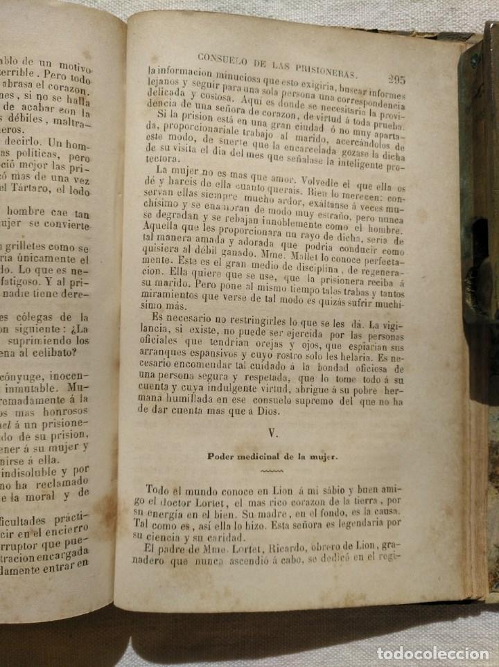 Libros antiguos: LA MUJER. INTERESANTE LIBRO DEL AÑO 1874. - Foto 2 - 168882688