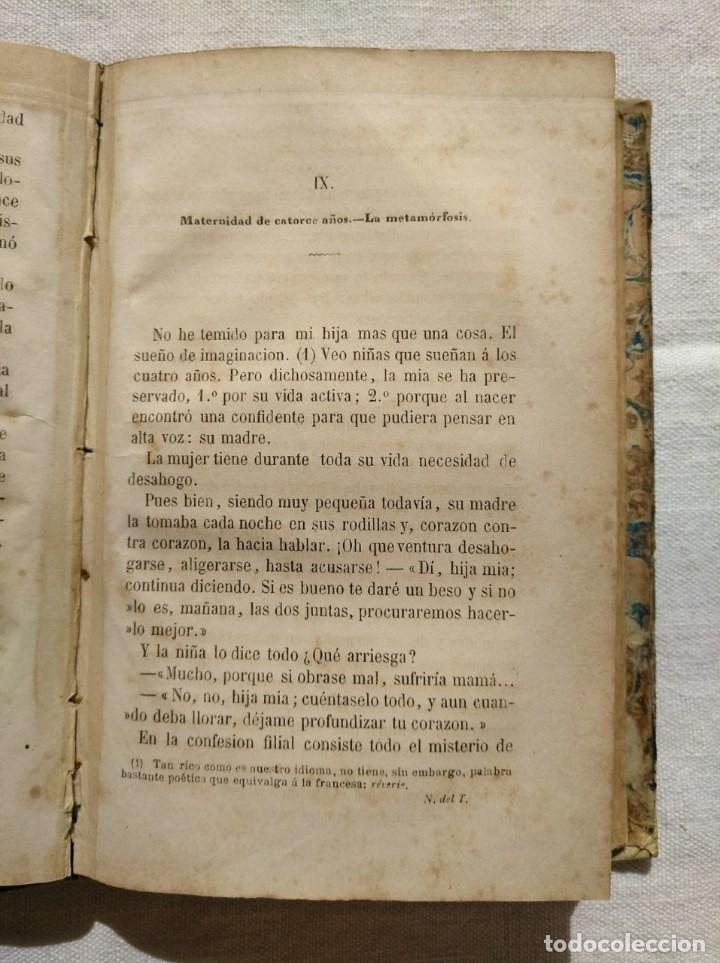 Libros antiguos: LA MUJER. INTERESANTE LIBRO DEL AÑO 1874. - Foto 5 - 168882688