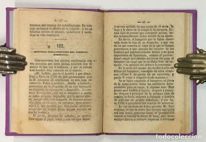 Libros antiguos: LA CIENCIA DE LA MUGER AL ALCANCE DE LAS NIÑAS. - CARDERERA, Mariano. - Foto 2 - 123171406
