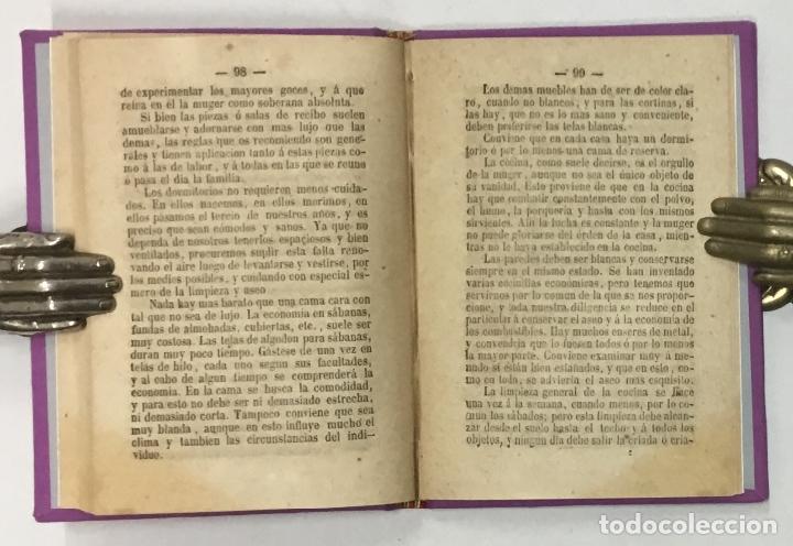 Libros antiguos: LA CIENCIA DE LA MUGER AL ALCANCE DE LAS NIÑAS. - CARDERERA, Mariano. - Foto 3 - 123171406