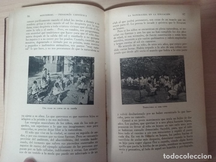 Libros antiguos: EL MÉTODO DE LA PEDAGOGÍA CIENTÍFICA (1937) - DOCTORA MARI MONTESSORIO - Foto 7 - 174025595
