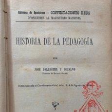 Libros antiguos: LECCIÓN DE LETRAS. Lote 175655912