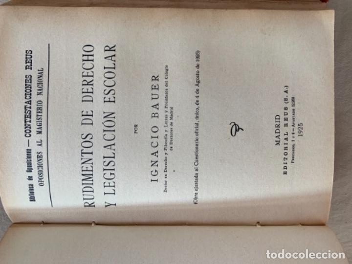 Libros antiguos: Lección de Letras - Foto 6 - 175655912