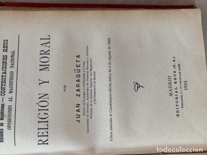 Libros antiguos: Lección de Letras - Foto 8 - 175655912
