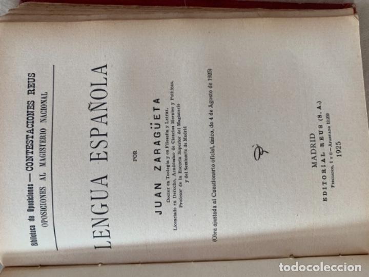 Libros antiguos: Lección de Letras - Foto 9 - 175655912