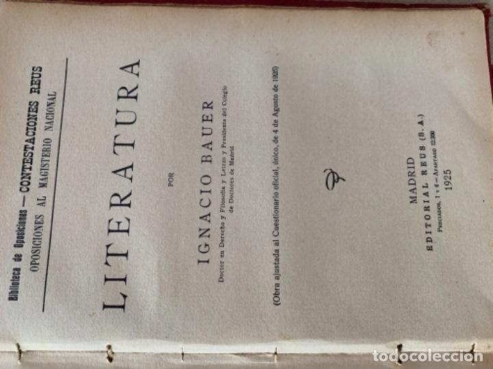 Libros antiguos: Lección de Letras - Foto 10 - 175655912