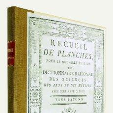 Libros antiguos: 1780 - MÚSICA - ENCYCLOPEDIE DE DIDEROT ET D'ALEMBERT - EDICIÓN SUIZA - 19 LÁMINAS Y TEXTO. Lote 175993844