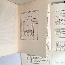 Libros antiguos: LA ESCUELA UNITARIA (1930) (PLANO Y HORARIO. NUMERO DE NIÑOS, HORARIO, DISCIPLINA, ENSEÑANZAS. Lote 178163017