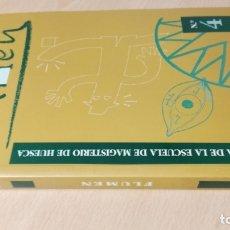Libros antiguos: FLUMEN 4 - REVISTA DE LA ESCUELA DE MAGISTERIO DE HUESCA - JUNIO 1999/ TXT61. Lote 182094465