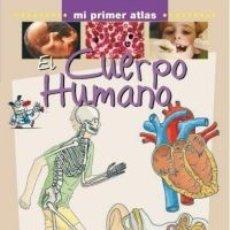 Libros antiguos: EL CUERPO HUMANO - MI PRIMER ATLAS PARRAMON TAPA DURA. Lote 183305152