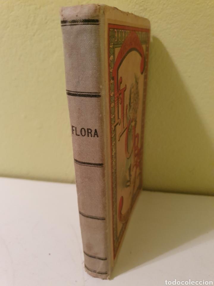 Libros antiguos: ANTIGUO LIBRO ESCOLAR FLORA LA EDUCACIÓN DE UNA NIÑA -PILAR PASCUAL S.XIX - Foto 2 - 183863897