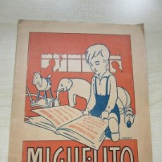Libros antiguos: CARTILLA MIGUELITO DE P SANCHEZ ROMERO 1928 VER DESCRIPCIÓM. Lote 184995882